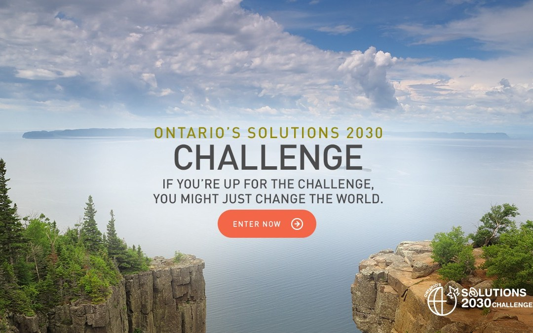 Ontario Announces 20 Semi-Finalists for Solutions 2030 Challenge