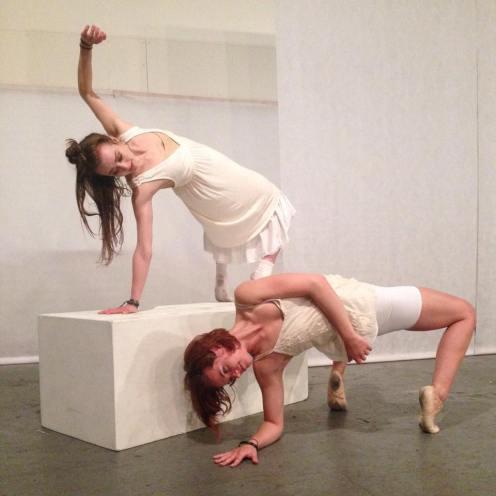 Mandie and Courtney Choreographers