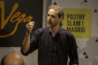 Diego Mattarucco | Poetry Slam especial por el Día Mundial de la Poesía 2014 | Casa Museo Lope de Vega | 21 de marzo de 2014