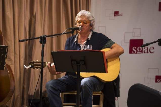 Joaquín Lera en el concierto de la doble presentación de sus nuevos trabajos | (CC) Paula Díaz