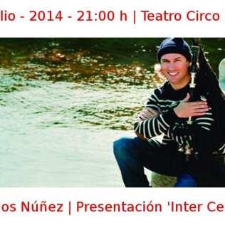 06 julio - 2014 - 21:00 h | Teatro Circo Price | Carlos Núñez - Presentación 'Inter Celtic' | Veranos de la Villa 2014 | Madrid