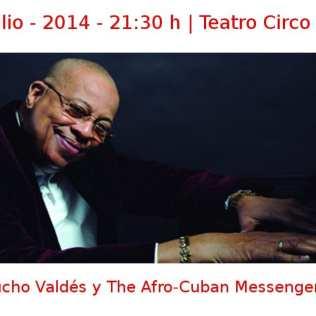 10 julio - 2014 - 21:30 h | Teatro Circo Price | Chucho Valdés y The Afro-Cuban Messengers | Veranos de la Villa 2014 | Madrid