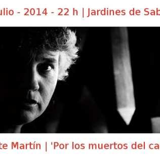 15 julio - 2014 - 22:00 h | Jardines de Sabatini | Mayte Martín - 'Por los muertos del cante' | Veranos de la Villa 2014 | Madrid