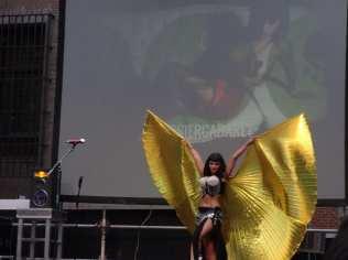 MADO'14 | Gossier Cabaret | Festival Cultural Muestra T | Actuación Svet Von Bathory | Plaza del Rey | Chueca
