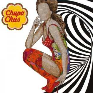 Chupa chups | 100X100 - Técnica mixta sobre lienzo | Carmen Casanova | Exposición 'Glamourama' | Galería Herráiz | Madrid