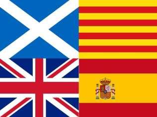 Escocia - Reino Unido   Catalunya - España   Un paralelismo sin paralelas   Portada