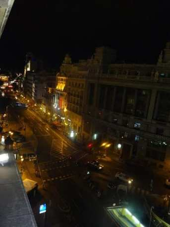 Zacapa Room | Un viaje sensorial al universo del ron Zacapa | Hasta 02-10-2014 | Vista de la Calle de Alcalá desde la terraza del Casino de Madrid