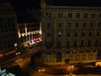 Zacapa Room | Un viaje sensorial al universo del ron Zacapa | Hasta 02-10-2014 | Vista de las calles Alcalá y Sevilla desde la terraza del Casino de Madrid