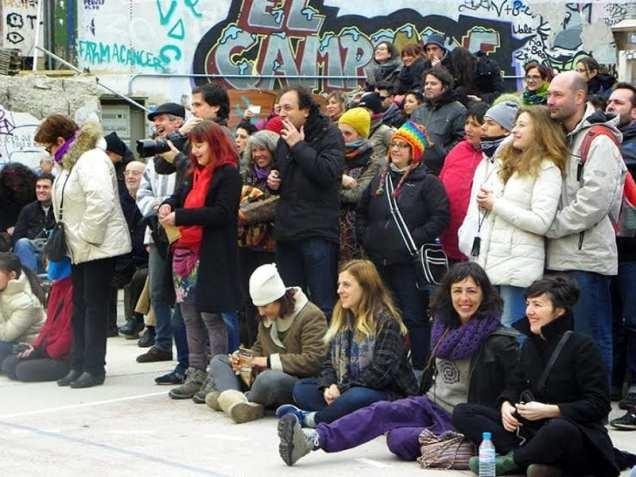 Ordenación 'Pequeño Nicolás' como Obispo de la Iglesia Patólica | 'El Campo de Cebada' | Domingo 28 de diciembre de 2014 | Fieles Iglesia Patólica