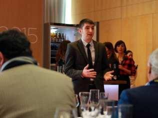 Gastronomía & Cerveza, nuevo concepto del maridaje   Casimiro Mahou & Racó d'en Cesc   Madrid Fusión 2015   Edgar Rodríguez, sumiller
