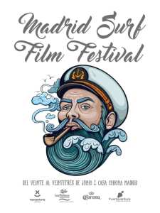 4º Madrid Surf Film Festival | Casa Corona Madrid | 20-23/06/2019 | Cartel