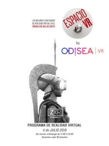 Espacio VR by Odisea VR | Círculo de Bellas Artes | Madrid | 11/07-11/08/2019 | Cartel