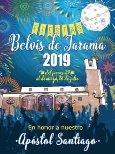 Fiestas Belvis de Jarama 2019 | Paracuellos de Jarama | Comunidad de Madrid | 25-28/07/2019 | Cartel