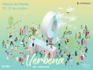 Verbena del Centenario | 25-27/10/2019 | CentroCentro | Palacio de Cibeles | Madrid | Cartel