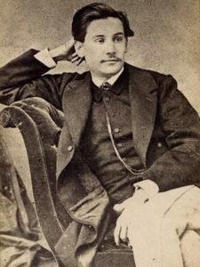 Fotografía de Benito Pérez Galdós | Circa 1863 | Familia Pérez-Galdós | Casa-Museo Pérez Galdos | Las Palmas de Gran Canaria | España