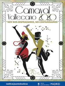Carnaval Vallecano 2020 | Puente de Vallecas | Madrid | 20-23/02/2020 | Cartel