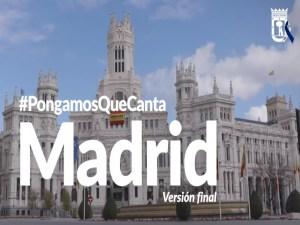 Pongamos Que Canta Madrid | Varios artistas | Versión final | Ayuntamiento de Madrid