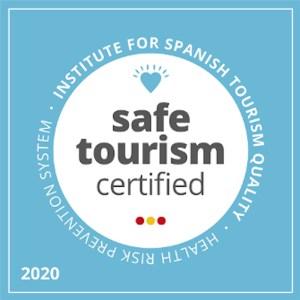 Sello 'Safe Tourism Certified' 2020 del ICTE