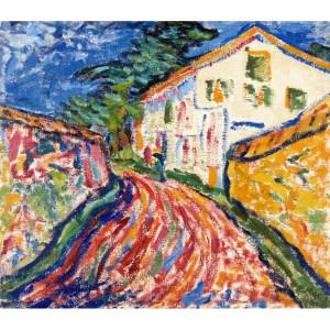 Expresionismo alemán | Museo Thyssen-Bornemisza | 27/10/2020-28/02/2021 | Madrid | 'Casa en Dangast' de Erich Heckel