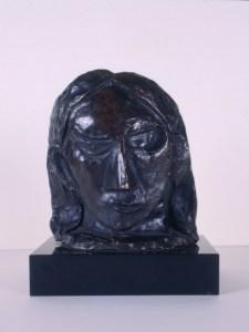 Cabeza de mujer (Fernande) -1908-   Pablo Picasso   'La pieza invitada'   Museo Picasso-CEA   Buitrago del Lozoya