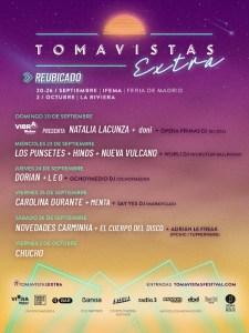 Festival Tomavistas Extra | Reubicado en IFEMA y La Riviera | 20/09-2/10/2020 | Madrid | Cartel