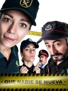 Que Nadie Se Mueva | Jon Plazaola y Esteban Roel | 24/10/2020-27/03/2021 | Teatro La Latina | Madrid | Cartel