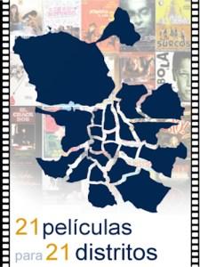 21 películas para 21 distritos | Guía del cine rodado en Madrid | GeoCine (UC3M) | Cartel