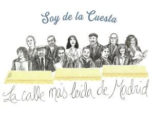Asociación Ciudadana Soy de la Cuesta | Feria de Libros de Madrid | Cuesta de Moyano | La calle más leída de Madrid