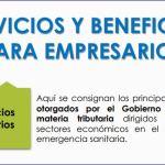 Beneficios otorgados por el Gobierno Nacional en materia tributaria dirigidos a todos los sectores económicos en el marco de la emergencia sanitaria.