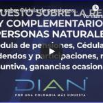 AYUDA RENTA 2019 – Configuración programa, modificaciones de versión 1.1 y más – 4/4 DIAN