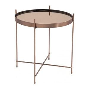 Table d'appoint, Kare Design — Cuivre, Ponio