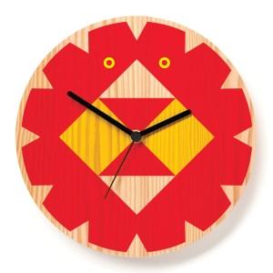 Horloge, Paul Farrell — Rouge Coquelicot, Ponio