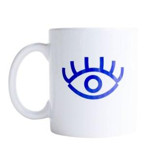 Mug, Antonin + Margaux — Bleu roi, Ponio