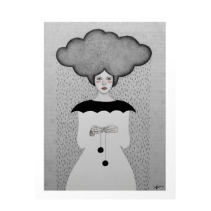 Affiche, Sofia Bonati — Gris Souris, Ponio
