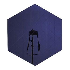 Miroir, Metafaux Design — Bleu Nuit, Ponio
