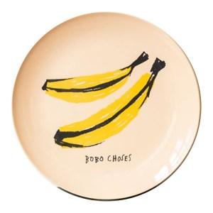 Assiette, Bobo Choses — Jaune Citron, Ponio