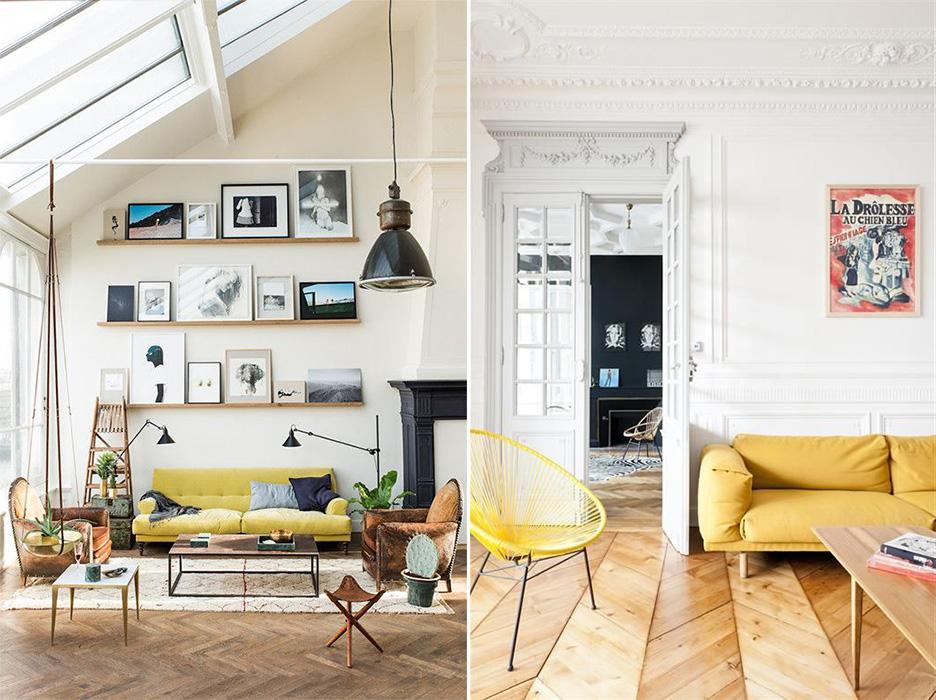 Du jaune citron pour illuminer son intérieur – Ponio