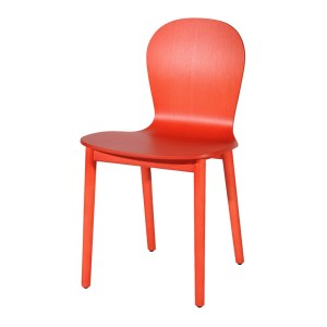 Chaise, Cappellini — Orange Corail, Ponio