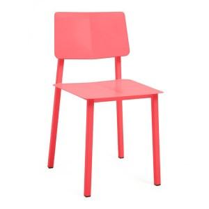 Chaise, Hartô — Orange Corail, Ponio