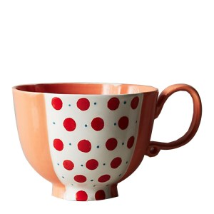 Tasse, Anthropologie — Orange Corail, Ponio