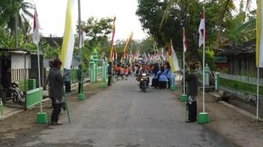 Tim Lomba Desa Propinsi Datang di Ponjong