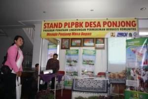 Stand PLPBK Desa Ponjong