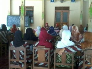 Rapat PKK Desa Ponjong