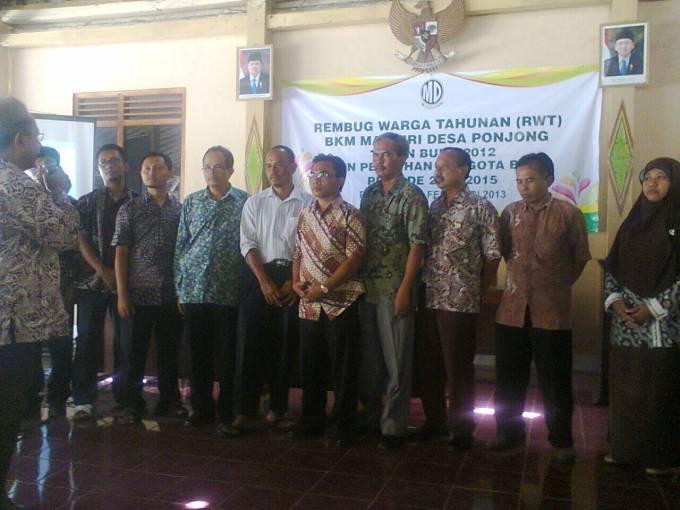 Pengurus BKM Mandiri 2013-2015