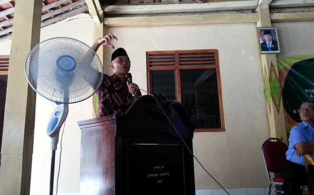 Orasi dari Bapak Idham Samawi