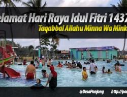 Pemerintah @DesaPonjong dan Masyarakat mengucapkan Selamat Idul Fitri 1437H