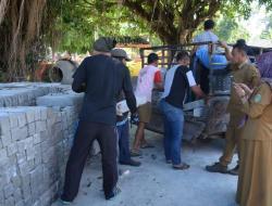 Desa Ponjong Mulai Pendistribusian Patok K1 PTSL dikirim ke Padukuhan