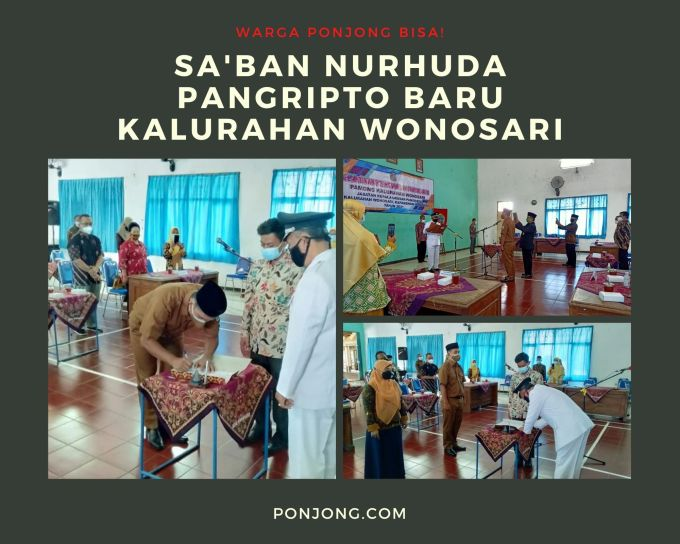 Profil Lengkap Saban Nurhuda Pangripto Kalurahan Wonosari Gunungkidul PONJONG COM