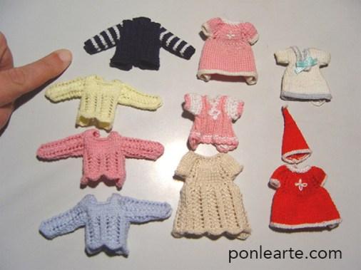 Ropitas en miniatura