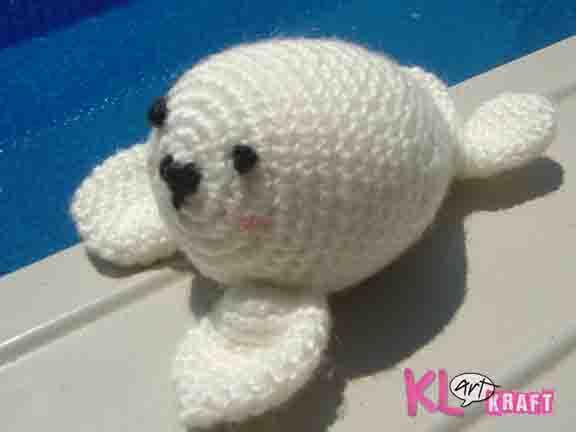 amigurumi foca